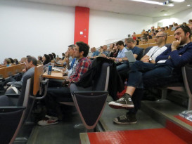 Audience at IWMW 2012