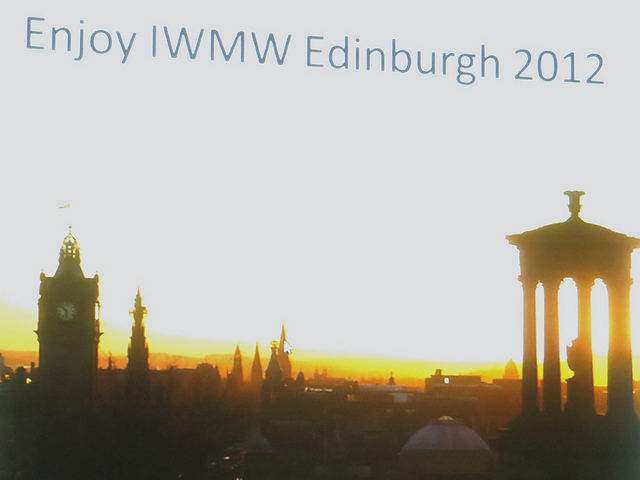 Guest Post: Andrew Millar's Reflections on Recent IWMW Events