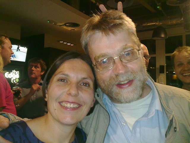 Brian and Marieke at IWMW 2010