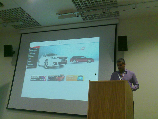 Ranjit Sidhu (Sid) speaking at IWMW 2010