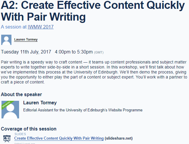 Guest Post: Pair Writing — the Healthy Way to Get Content