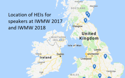 Opportunities for Newcomers at IWMW 2019