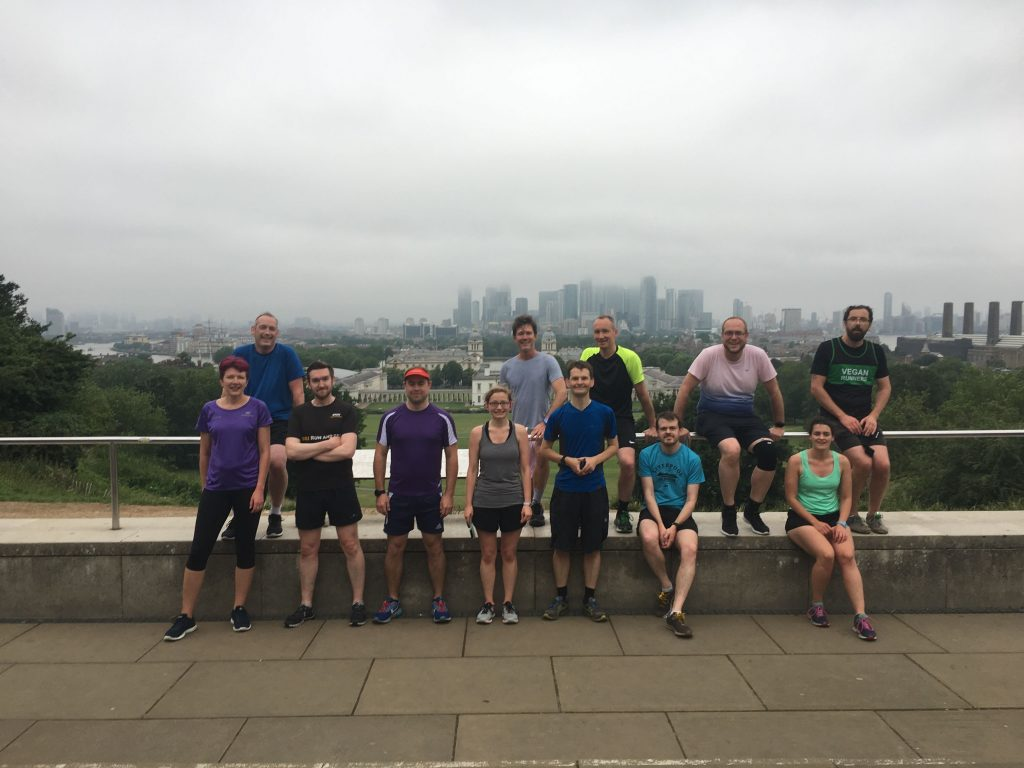IWMW 2019 conference runner at Greenwich Park
